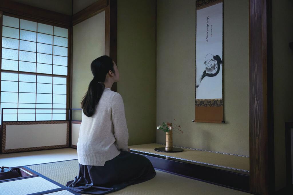 茶室的「掛軸」蘊藏茶道老師想傳達的訊息