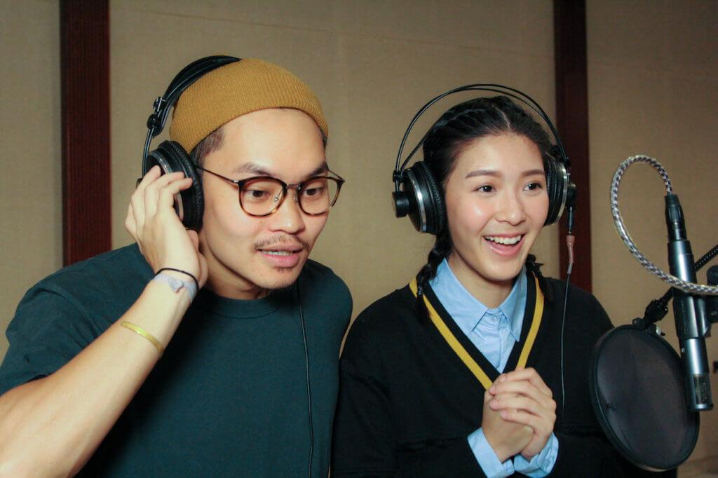 胡子彤和余香凝分別聲演主角思噎仔和阿翠