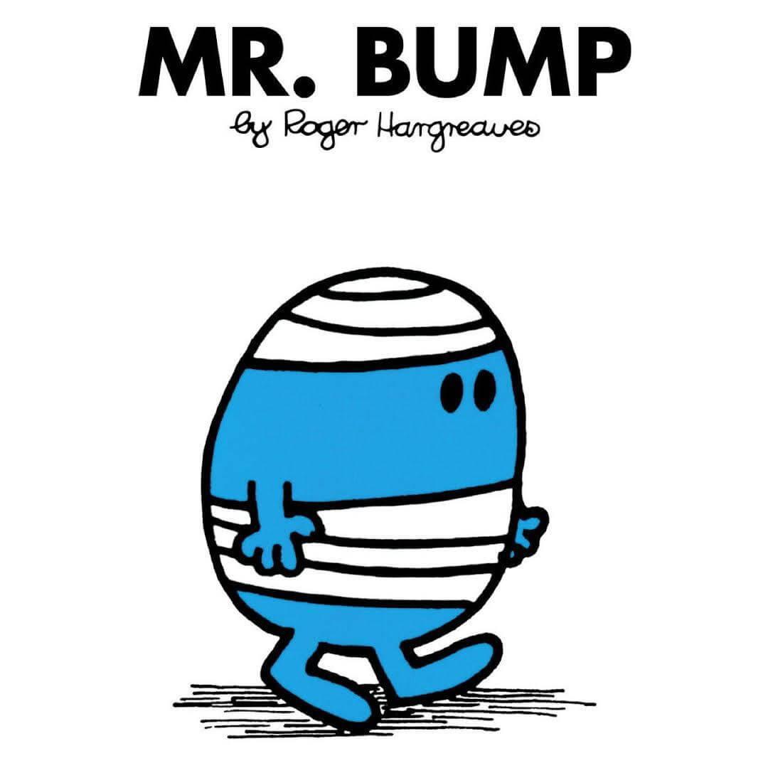 側田自小就喜歡Mr.Bump,一定下今次演唱會的主題,就想起這位卡通人物。