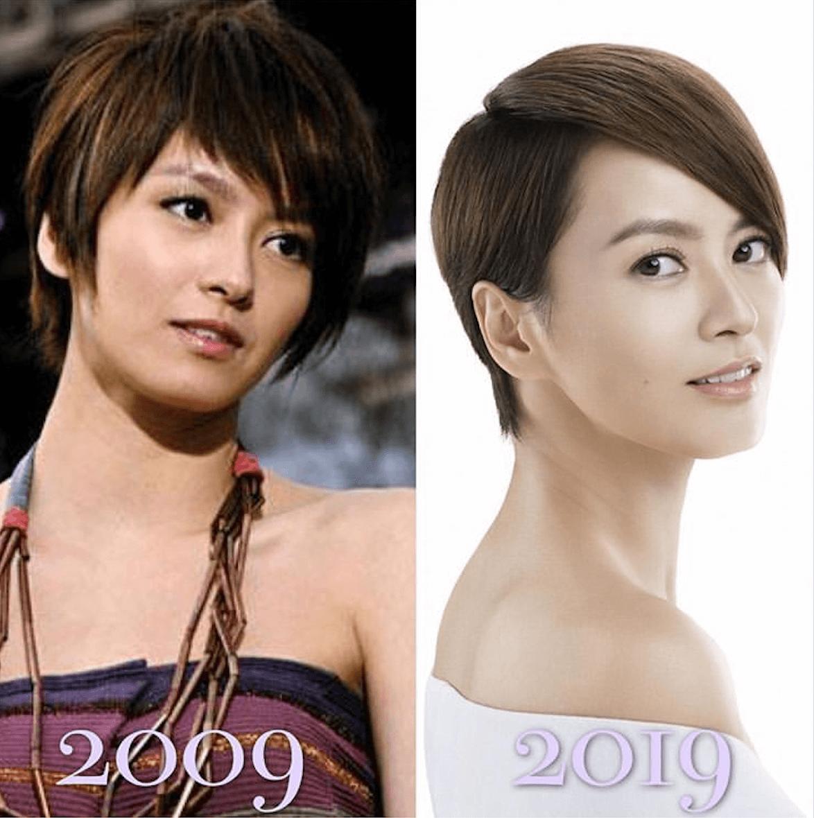 GiGi一頭爽朗利落的短髮十年如一