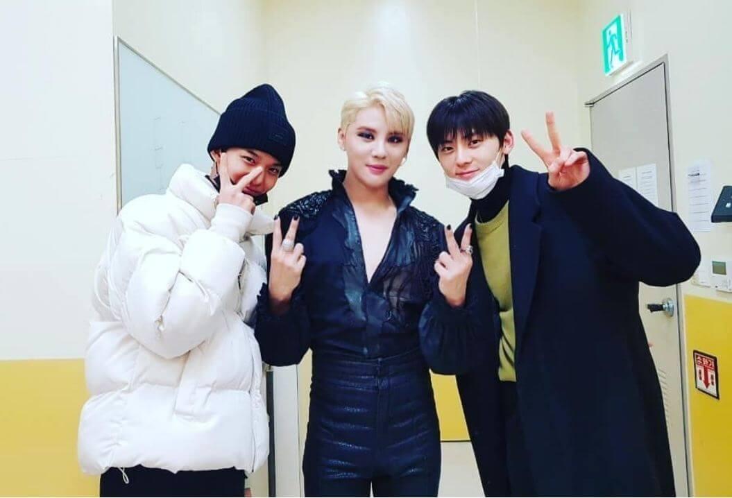 裴珍映和黃旼炫早前觀看JYJ成員金俊秀的音樂劇表演,裴珍映所屬社亦就惡意留言採取法律行動。