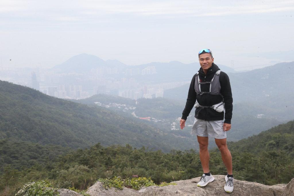 黃浩聰不斷挑戰自己,希望為學生做好榜樣。