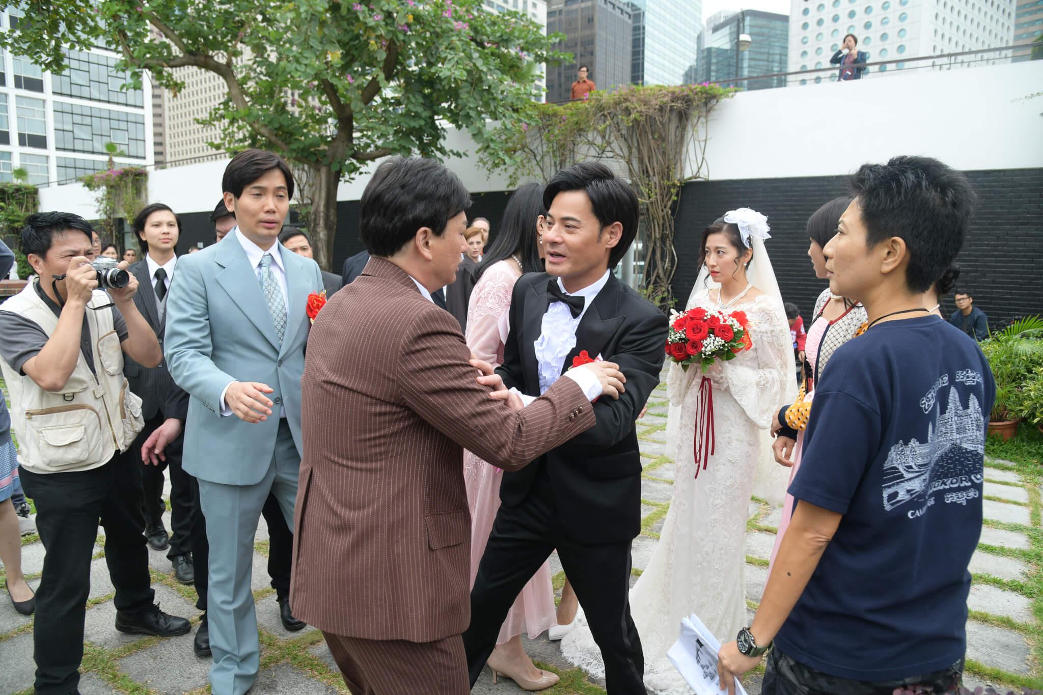 劇中陳自瑤的前度男友來騷擾,與性格暴躁的阿Ben大打出手。