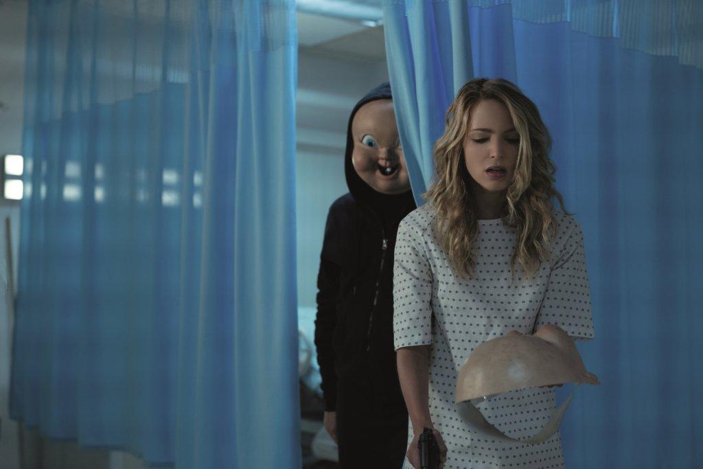 謝茜嘉在《死亡無限2次LOOP》又再墮進死亡loop,還遭另一殺人狂追殺。
