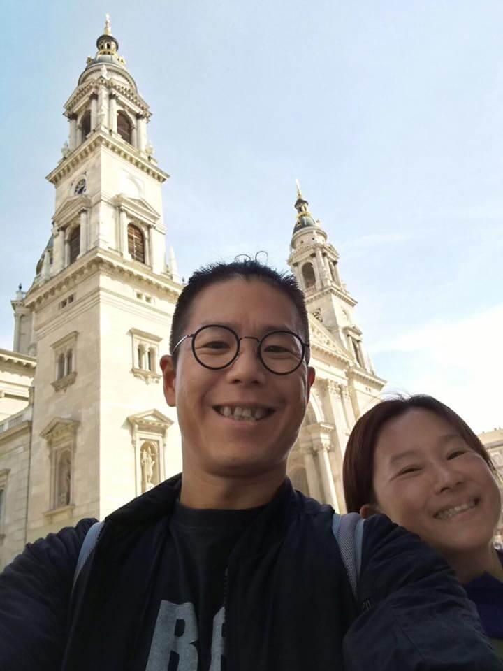 林曉峰與大家姊林珊珊感情不錯