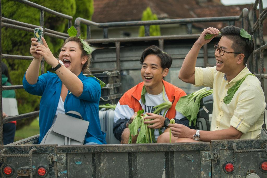欣宜與戲中的哥哥林曉峰、弟弟林德信鬧出不少笑話。