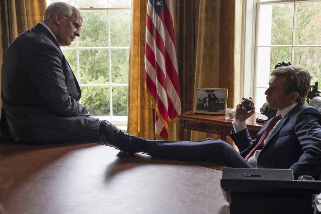 《為副不仁》講述基斯頓飾演的切尼,如何控制小布殊,成為最有實權的美國副總統。