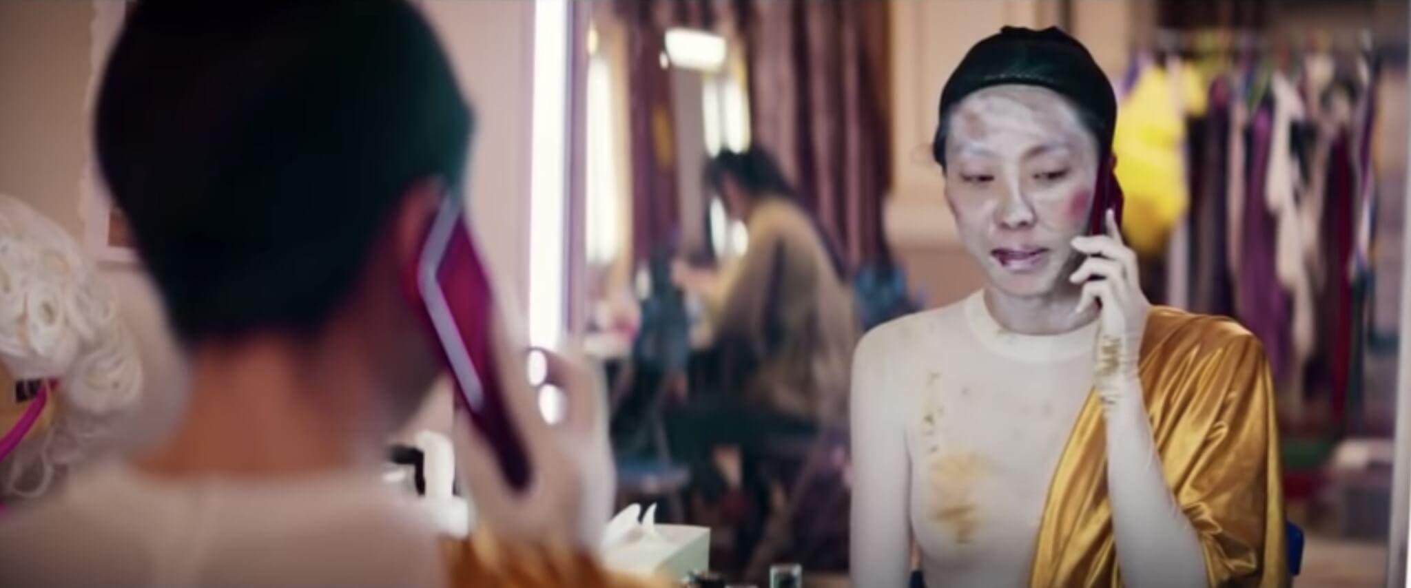 鄂靖文和「如夢」一樣,憑着打不死精神,最終如願成為女主角,得到期待已久的黃金機會。