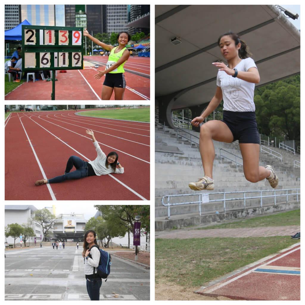 俞雅欣從小到大都喜歡運動