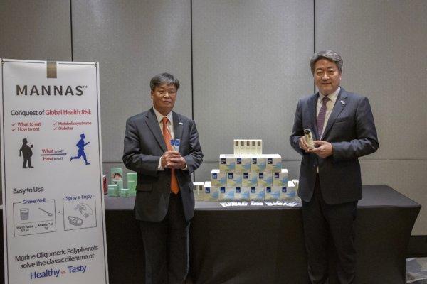 BotaMedi執行董事權五翊先生(左)與行政總裁李涬雨博士