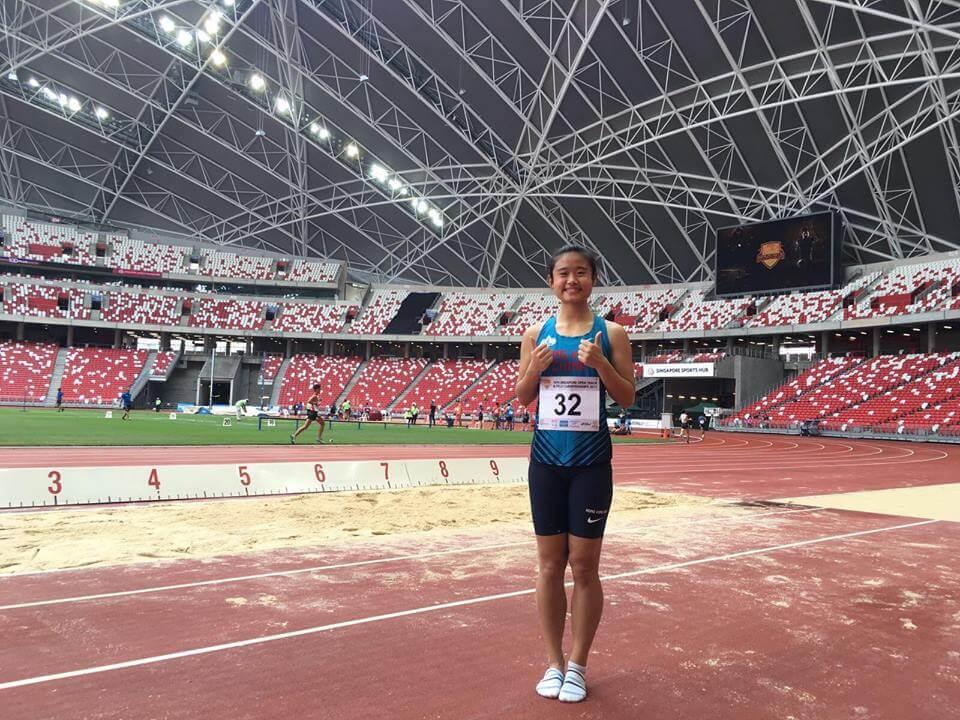 俞雅欣希望努力拉近香港與亞洲的女子跳遠水平