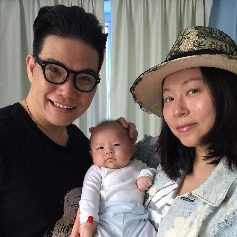 蘇永康和太太Anita一七年誕下兒子Jazz