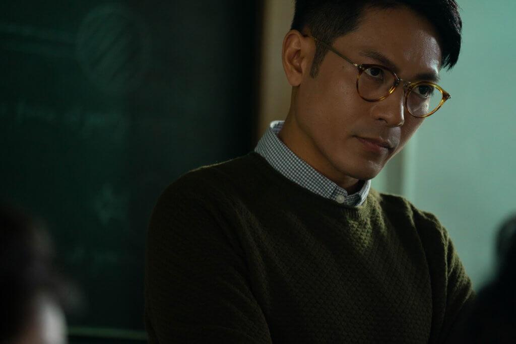 陸駿光在《G殺》飾演名校教師,又跟女學生有不尋煨常關係,角色破格。