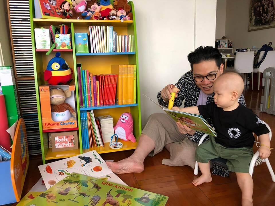 蘇永康最近忙着為兩歲兒子選幼稚園
