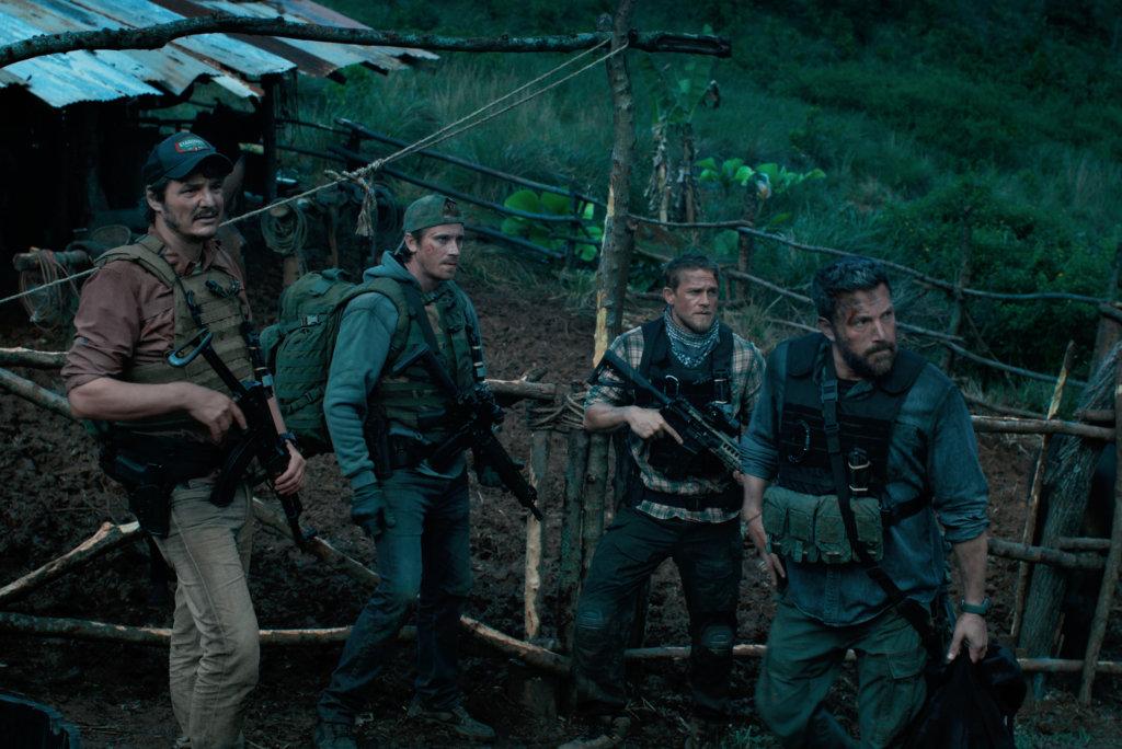 四位型男包括奧斯卡艾薩、加烈希隆、查理漢南及佩德羅帕斯卡爾組成男人味爆棚的軍事行動部隊