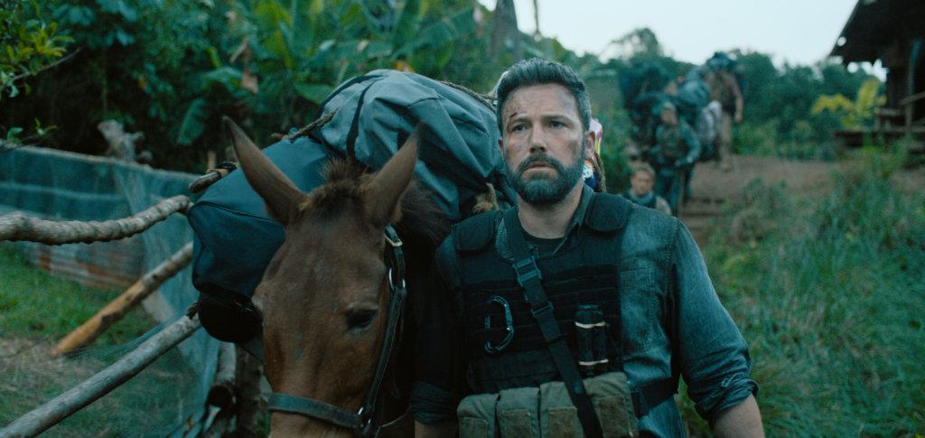 導演問賓艾費力是否願意騎驢仔,他立刻拒絕。