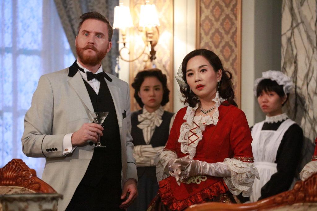 在無綫劇集《福爾摩師奶》中飾演陳松伶的爵士丈夫菲臘費查,至今是生是死,還是一個謎。