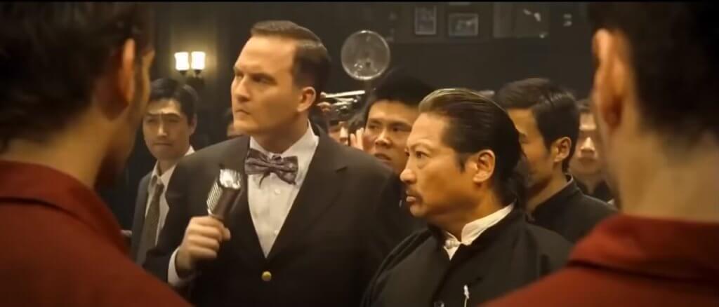 布偉傑在電影《葉問2》中飾演擂台主持