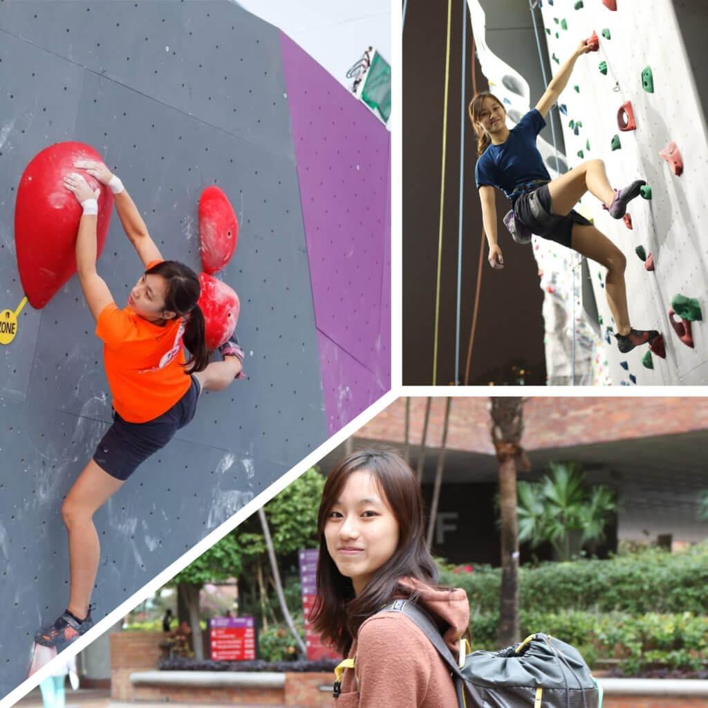 杜凱迎很喜歡參加比賽,因為戰勝挑戰令她覺得很有滿足感。