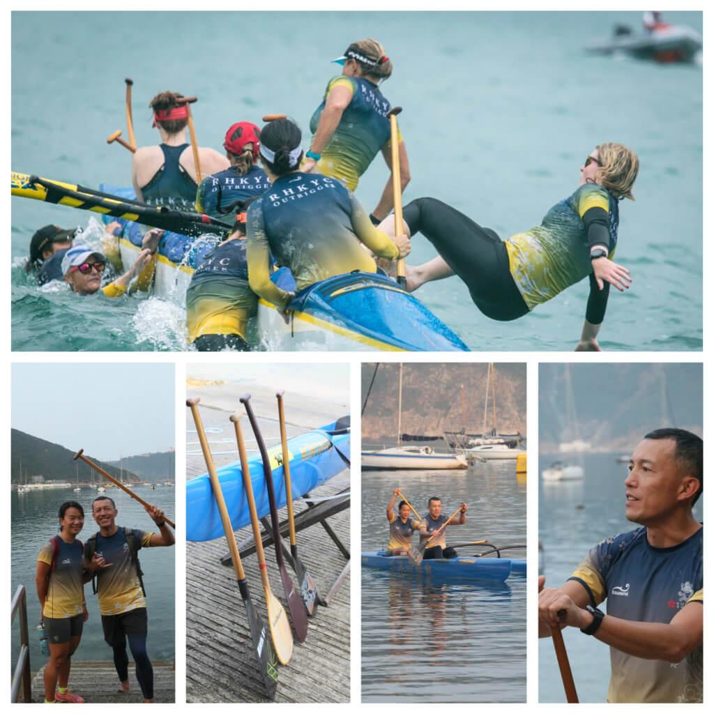 香港遊艇會每年都舉行懸浮獨木舟環島大賽。