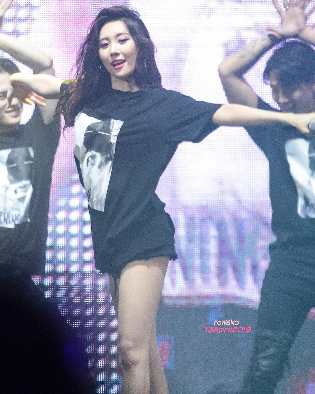 不要看宣美弱質纖纖,她跳起舞來強而有力!