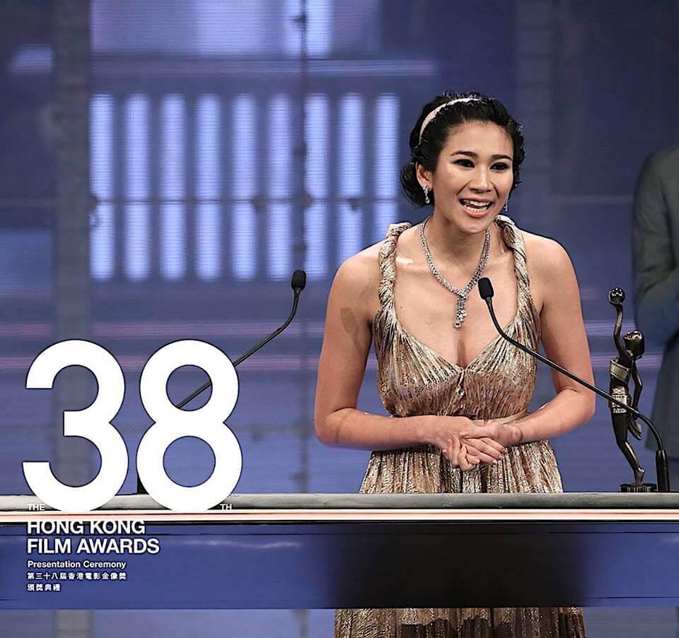 Crisel在香港電影金像獎奪得最佳演員獎