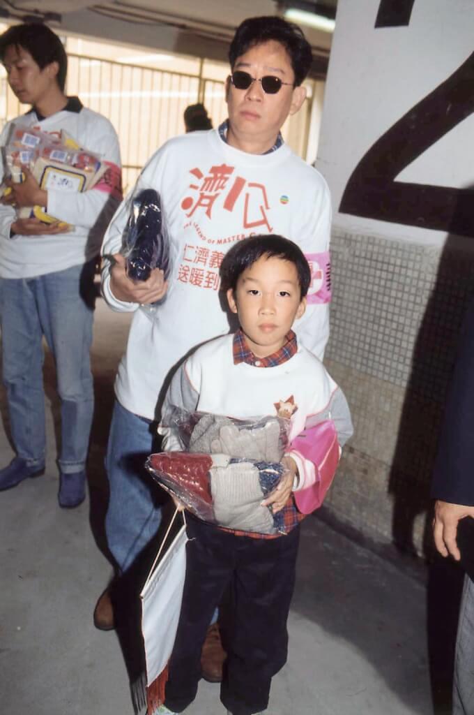 黎彼得做了多年帶子洪郎,今年兒子已三十歲,正在國內修讀中醫。