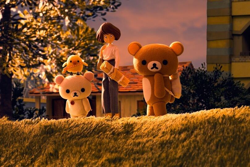 《輕鬆小熊與小薰》是配合鬆弛熊誕生十五周年而製作