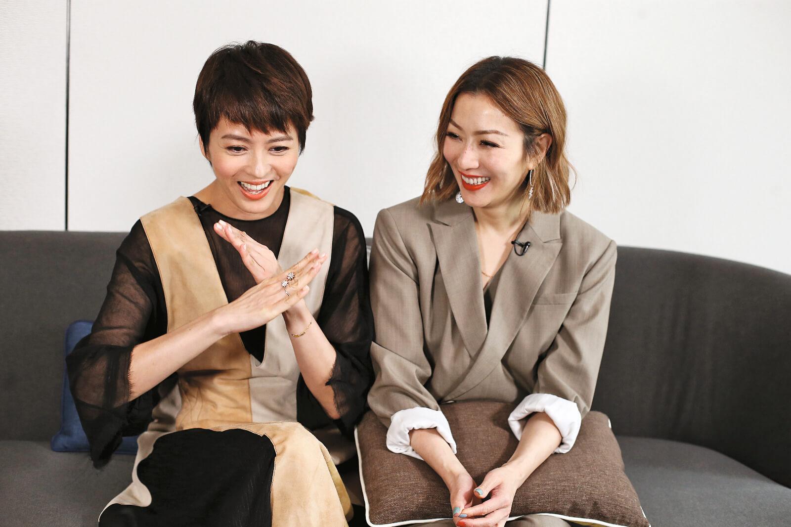 兩人在戲中都有喊戲,她們都特別感謝編劇的台詞,令情緒更容易入戲。