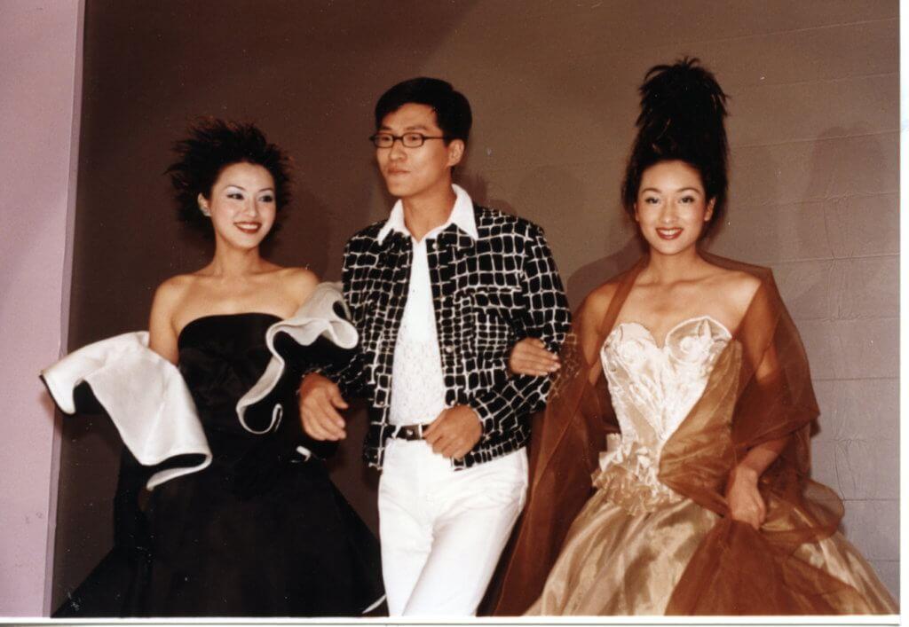 廿多年前的林韋辰與亞視花旦楊恭如、陳煒行騷