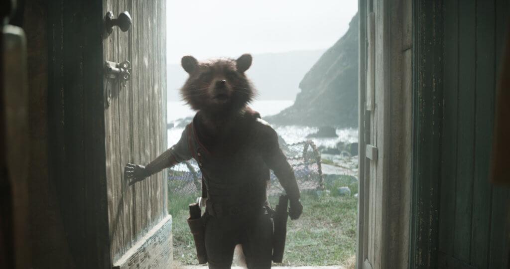 火箭浣熊今集又萌又酷爆
