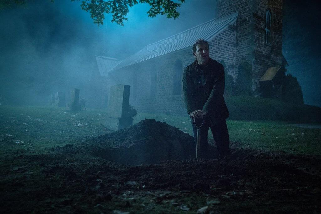 扮演父親的積遜卡克坦言半夜拍挖掘墳墓一幕很恐怖