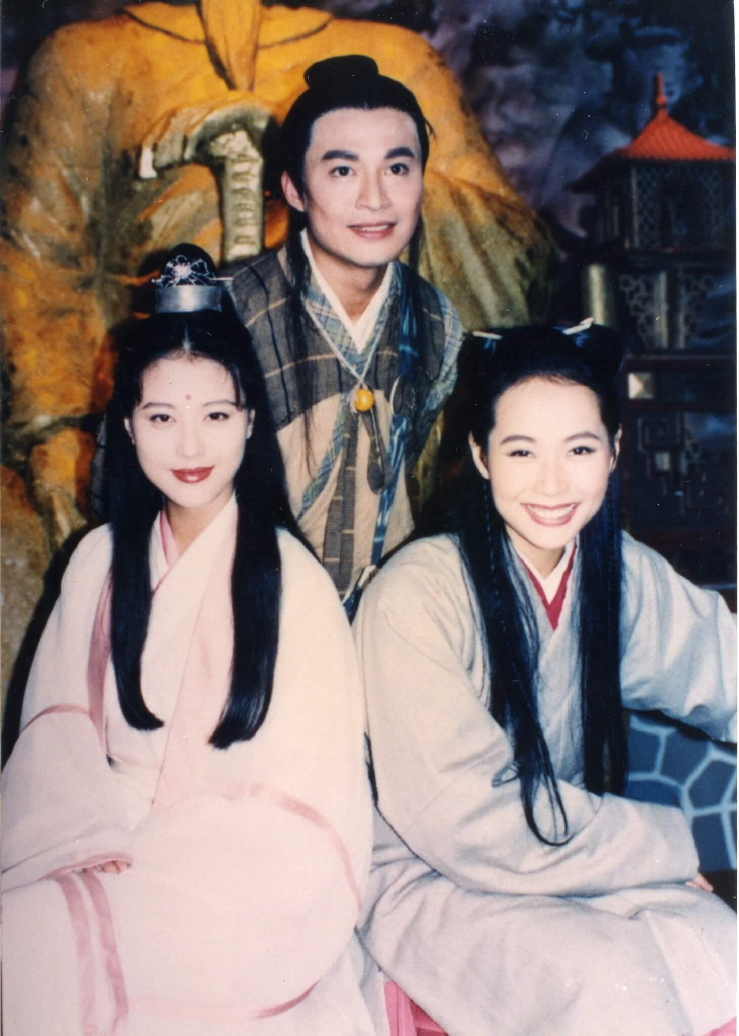 台劇《倚天》馬景濤飾演張無忌、葉童飾演趙敏,飾演周芷若的海味因此劇爆紅。