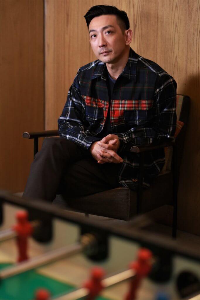 ○三年SARS時,李璨琛試過近十個月無工開,整個人很迷失。