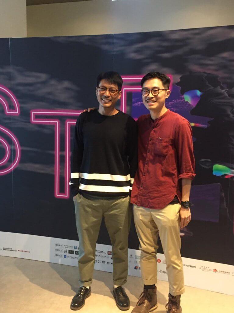 陸駿光近年拍多了拍港台劇,之前拍《獅子山下》的《黑哥》更有份去台南參展。
