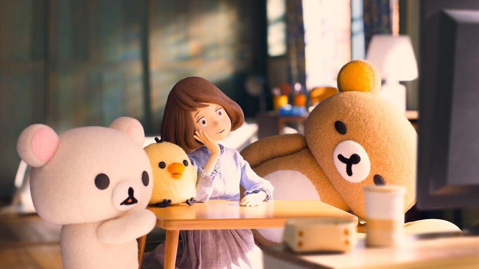 日本全新布公仔動畫《輕鬆小熊與小薰》,大獲劇迷好評。