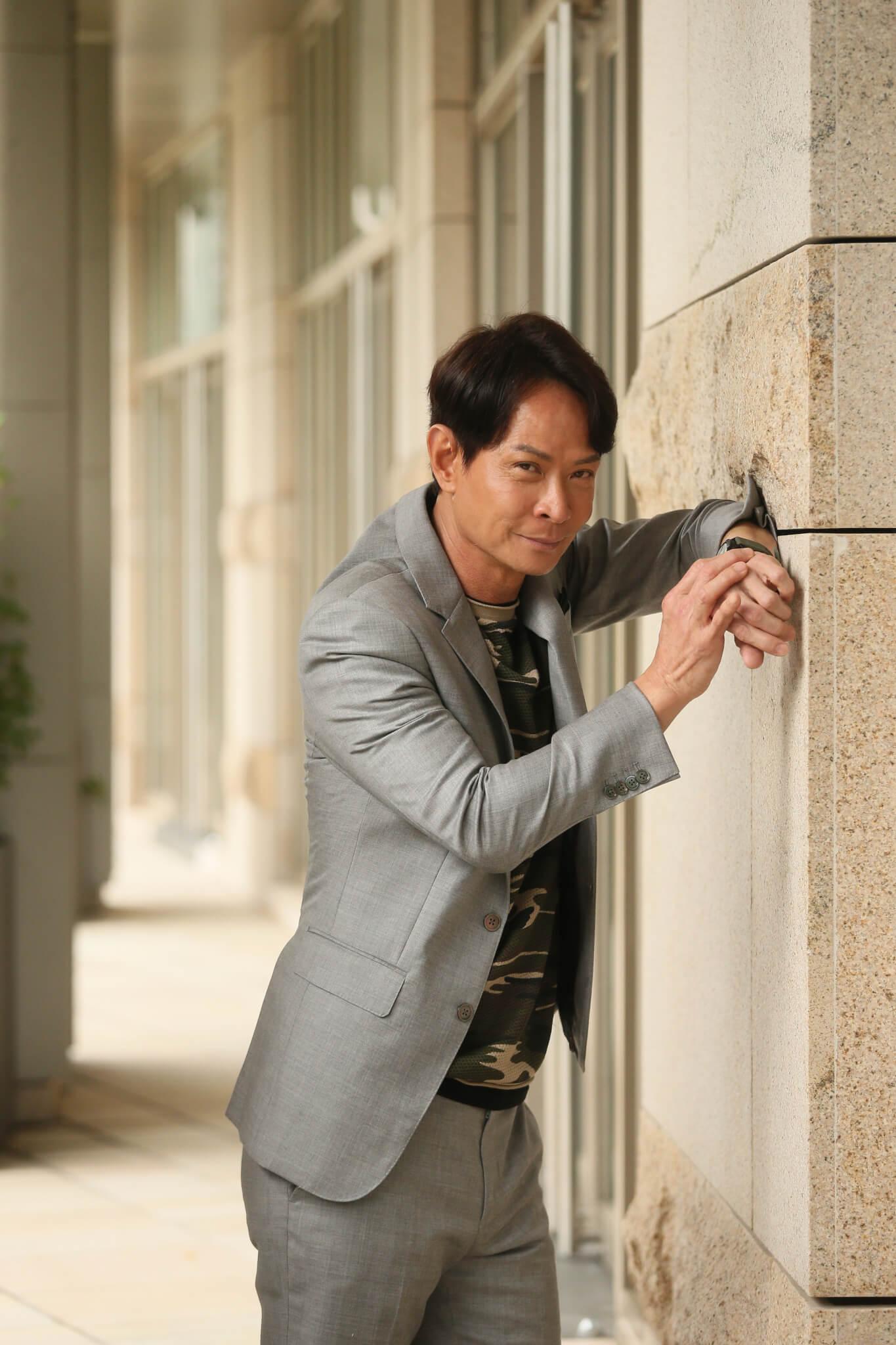 吳廷燁雖然外表比較兇悍,但內心相當溫柔體貼。