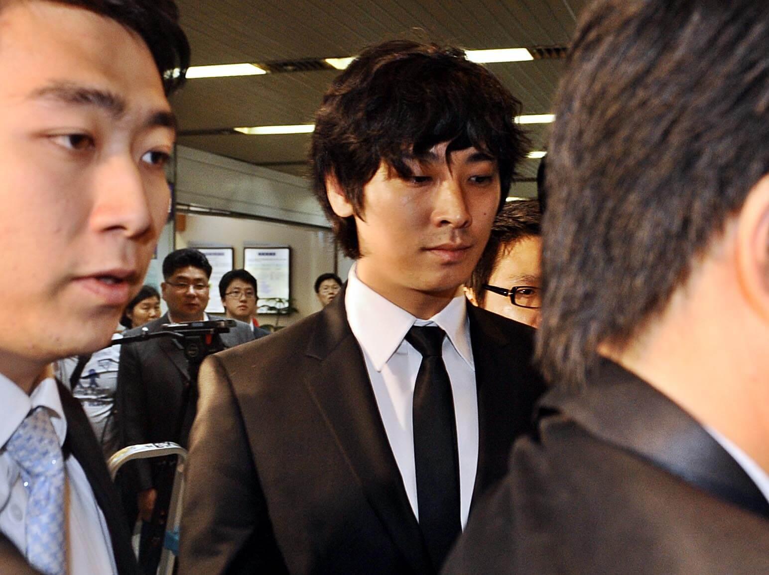 朱智勛吸毒案轟動一時,法官念他在好奇心驅使下初犯而輕判。