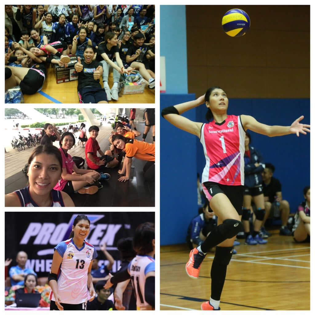 楊秀美就算不做職業球員也會繼續打排球,因為排球已經成為人生最重要的一部份。