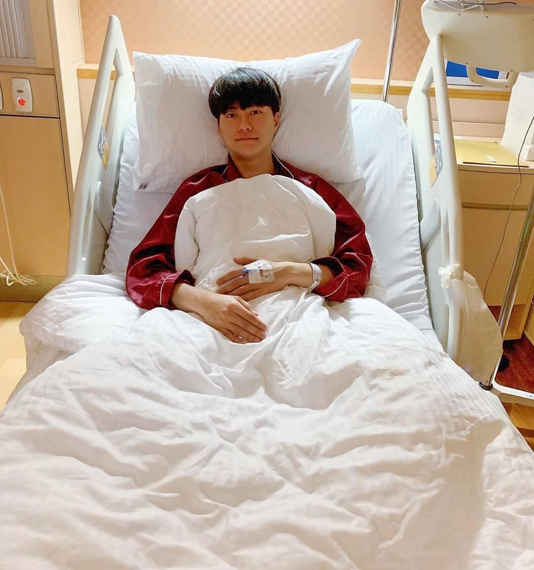 吊威也意外發生後,Hubert由公立醫院轉到私家醫院。