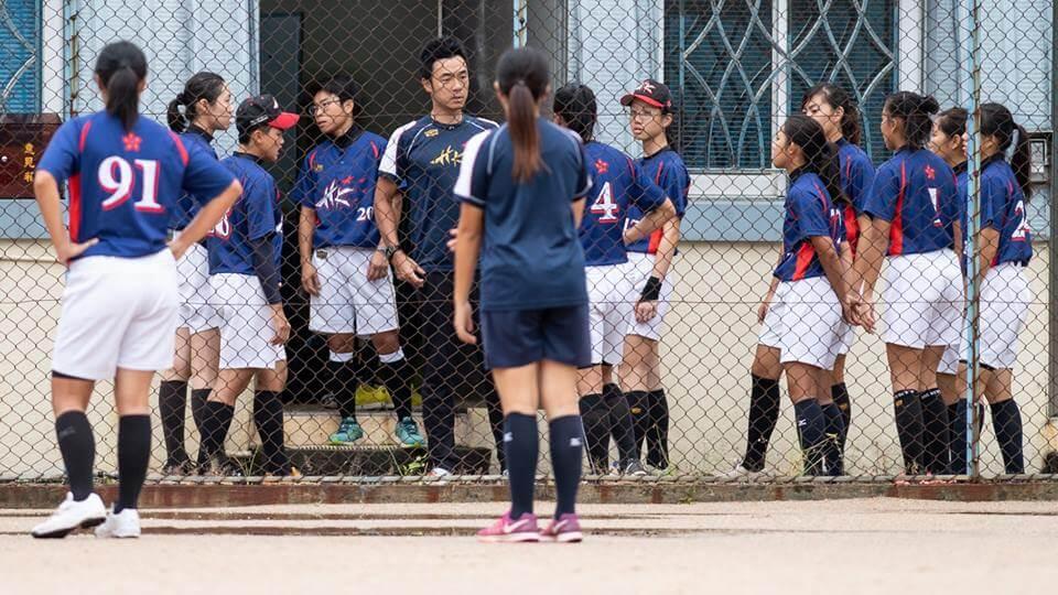 大島田教導隊員們不要將個人精緒帶到球場。