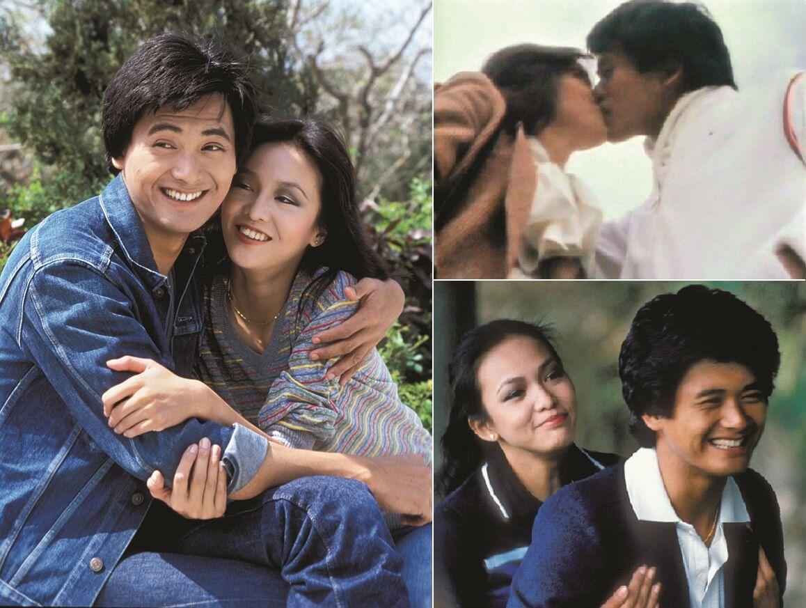 在《網中人》、《親情》與《火鳳凰》中,鄭與周在熒幕上由拖手,親吻,到吵架,是香港史上的情侶楷模。