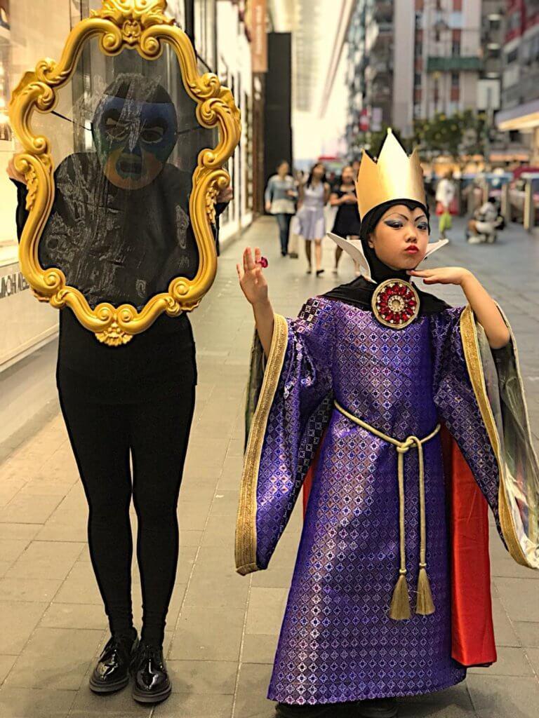 Tayla天生擁有一把好嗓子,加上喜歡舞台表演,更獲選擔任音樂劇《Pinocchio》主角。