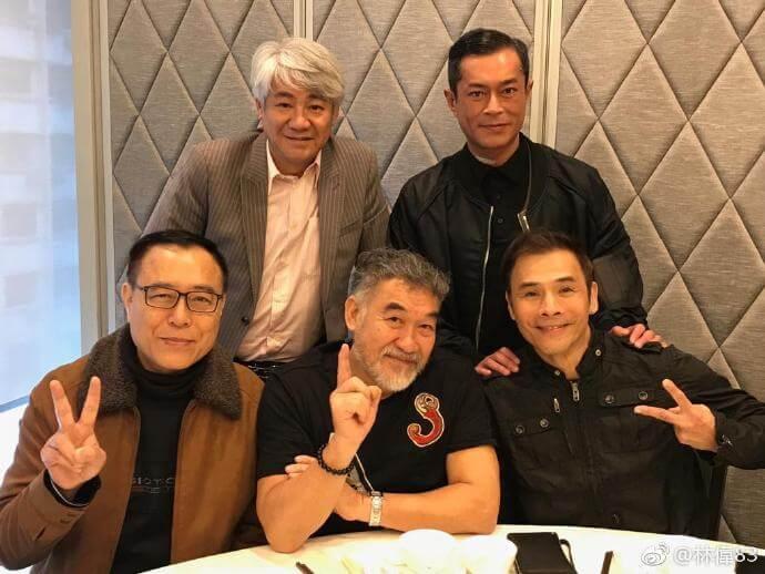 林偉與古天樂及尹揚明等人在九五年合作《餐餐有宋家》,月前大家相約聚首,他形容大家都改變了,唯獨情懷尚在。