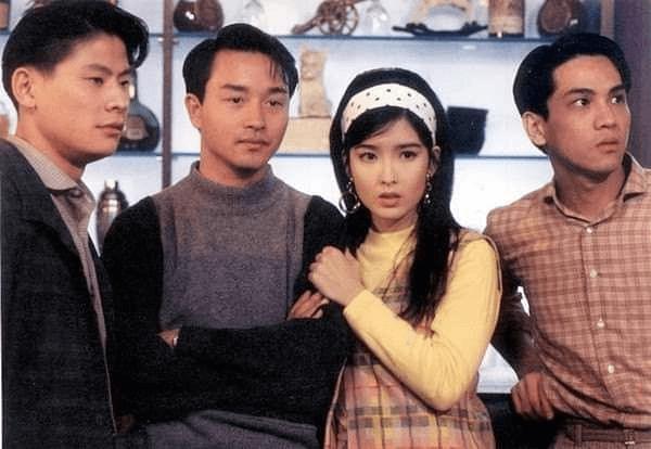 九二年在電影《藍江傳之反飛組風雲》,林敬剛與張國榮和周慧敏同場演出,印象難忘。