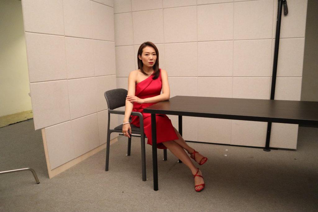 卓韻芝說今次的準備是心態上的調整,會跟一眾前輩虛心學習。