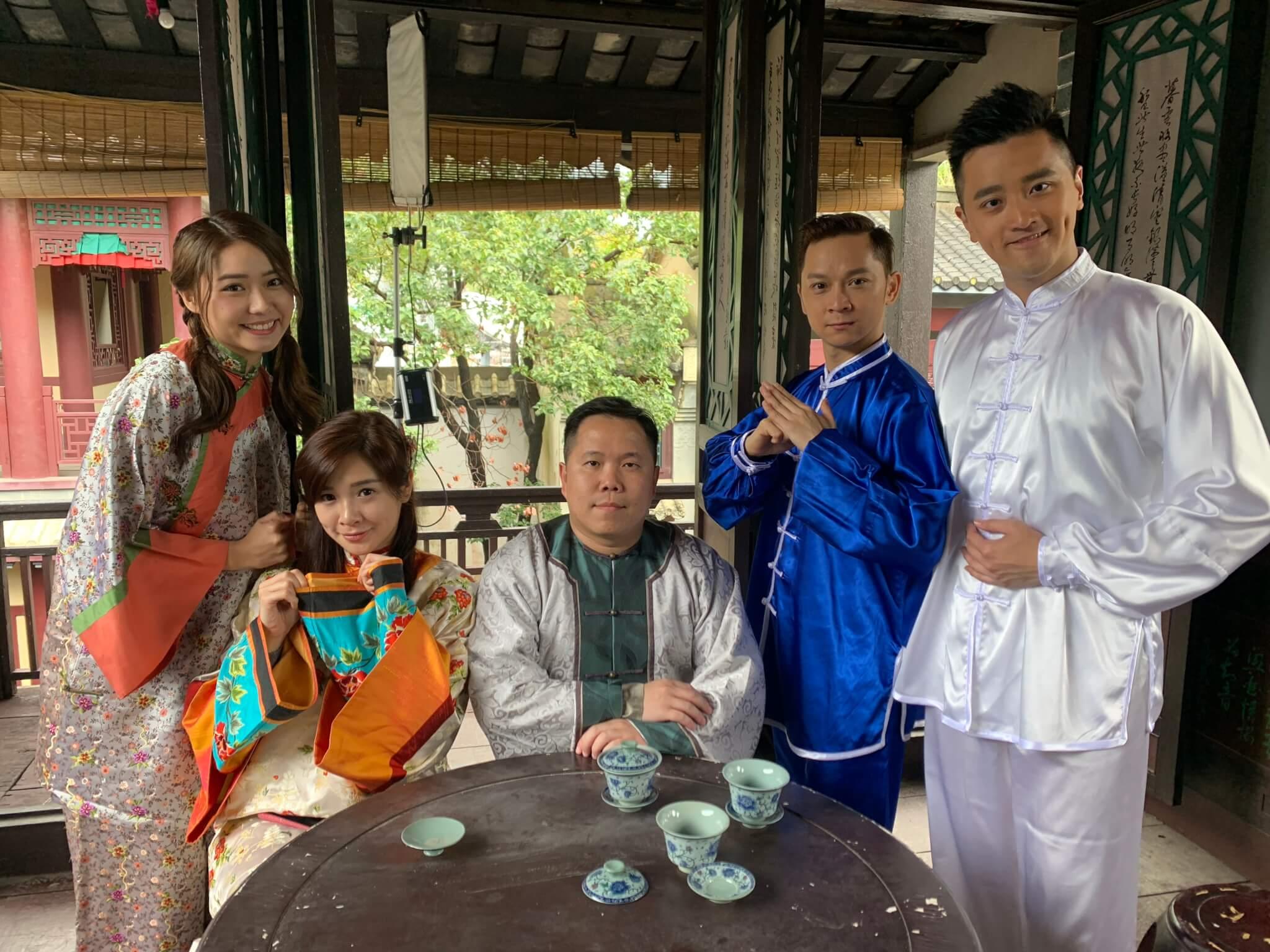 Edmond和Mayanne為新一輯節目《粵講粵㜺鬼》到廣州、佛山、順德逗留五日拍攝。