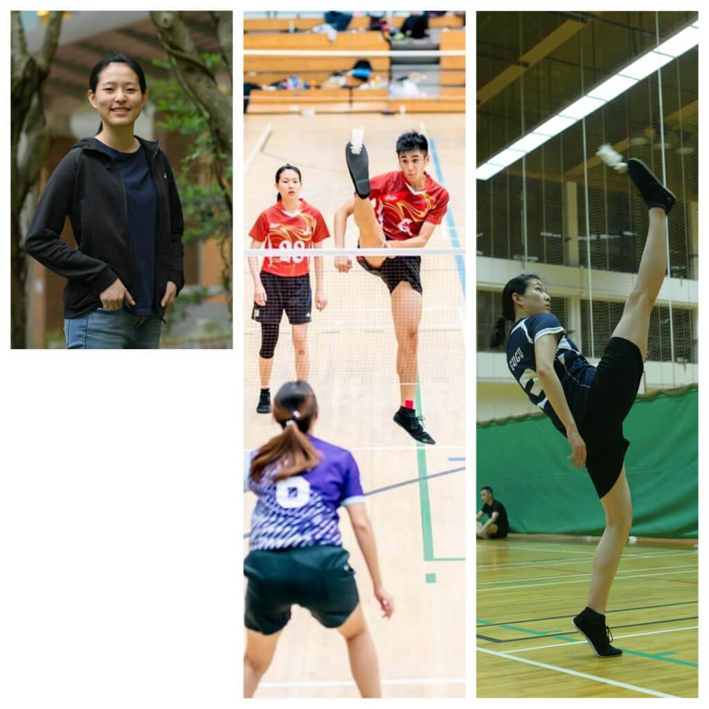 盧慧鳴希望賽出好成績令更多香港認識足毽運動。