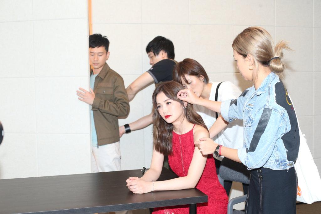 蔡卓妍由影圈轉戰舞台劇,雖然未感壓力,但一切是由零開始。