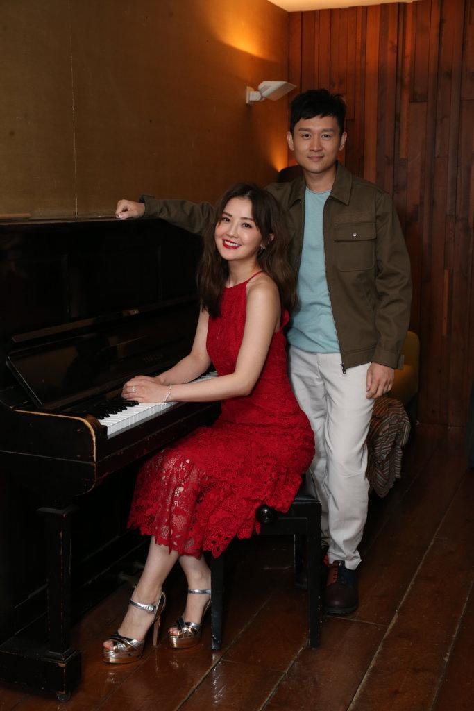 凌文龍笑言不敢向阿Sa傳授演舞台劇心得,因劇中有很多好戲之人。